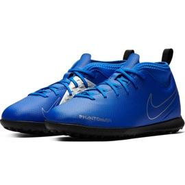 Buty piłkarskie Nike Phantom Vsn Club Df Tf Jr AO3294 400 niebieskie wielokolorowe 3
