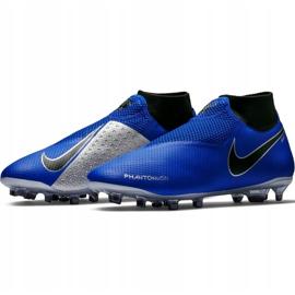 Buty piłkarskie Nike Phantom Vsn Pro Df Fg AO3266 400 niebieskie 3