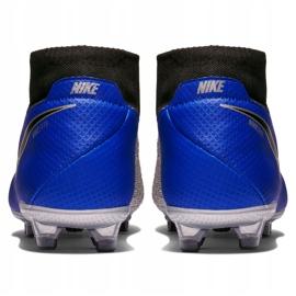 Buty piłkarskie Nike Phantom Vsn Pro Df Fg AO3266 400 niebieskie 6