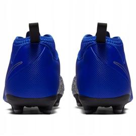 Buty piłkarskie Nike Phantom Vsn Club Df Fg Mg Jr AO3288 400 niebieskie wielokolorowe 4