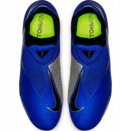 Buty piłkarskie Nike Phantom Vsn Pro Df Fg AO3266 400 niebieskie 1