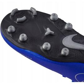 Buty piłkarskie Nike Phantom Vsn Club Df Fg Mg Jr AO3288 400 niebieskie wielokolorowe 5