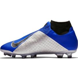 Buty piłkarskie Nike Phantom Vsn Pro Df Fg AO3266 400 niebieskie 2