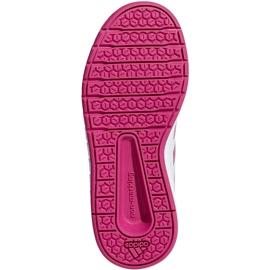Buty dla dzieci adidas AltaSport K biało różowe D96870 białe 6