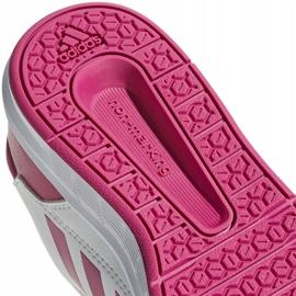Buty dla dzieci adidas AltaSport K biało różowe D96870 białe 5
