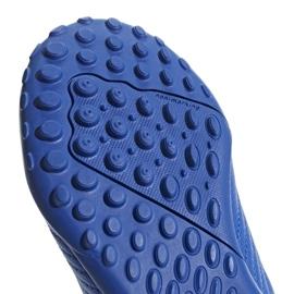Buty piłkarskie adidas Predator 19.4 Tf Jr niebieskie CM8556 wielokolorowe 6