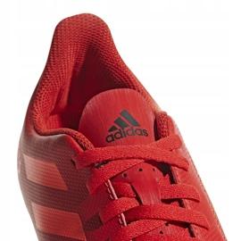 Buty piłkarskie adidas Predator 19.4 FxG Jr CM8541 czerwone wielokolorowe 3