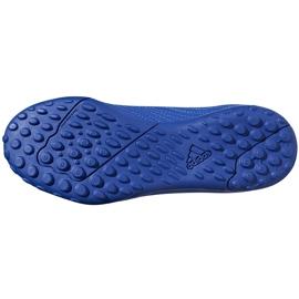 Buty piłkarskie adidas Predator 19.4 Tf Jr niebieskie CM8556 wielokolorowe 3