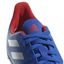 Buty piłkarskie adidas Predator 19.4 Tf Jr niebieskie CM8556 wielokolorowe 5