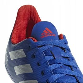 Buty piłkarskie adidas Predator 19.4 FxG Jr niebieskie CM8540 wielokolorowe 6