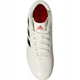 Buty piłkarskie adidas Nemeziz 18.4 FxG Jr CM8510 białe wielokolorowe 1