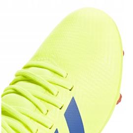 Buty piłkarskie adidas Nemeziz 18.3 Fg Jr żółte CM8505 4