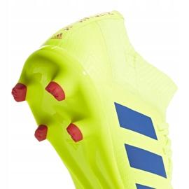 Buty piłkarskie adidas Nemeziz 18.3 Fg Jr żółte CM8505 5