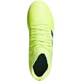 Buty piłkarskie adidas Nemeziz 18.3 Fg Jr żółte CM8505 1