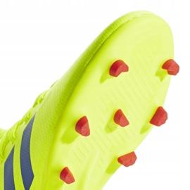 Buty piłkarskie adidas Nemeziz 18.3 Fg Jr żółte CM8505 6