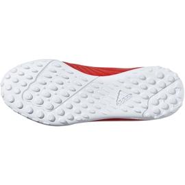 Buty piłkarskie adidas X 18.4 Tf Jr czerwone BB9417 wielokolorowe 6