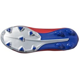 Buty piłkarskie adidas X 18.3 Fg Jr czerwone BB9371 wielokolorowe 6