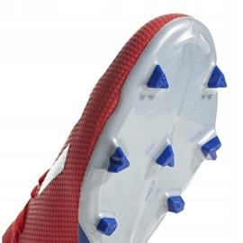 Buty piłkarskie adidas X 18.3 Fg czerwone BB9367 wielokolorowe 5