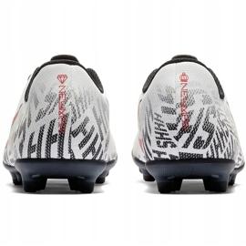 Buty piłkarskie Mercurial Nike Neymar Vapor 12 Club Fg Jr AV4762 170 wielokolorowe białe 4
