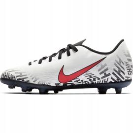 Buty piłkarskie Mercurial Nike Neymar Vapor 12 Club Fg Jr AV4762 170 wielokolorowe białe 2