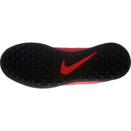 Buty piłkarskie Nike Phantom Vsn Club Df Tf Jr AO3294 600 czerwone wielokolorowe 1