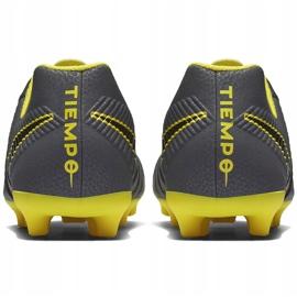 Buty piłkarskie Nike Tiempo Legend 7 Club Mg Jr AO2300 070 szare czarne 6