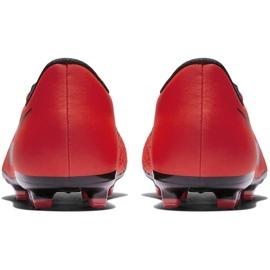 Buty piłkarskie Nike Phantom Venom Academy Fg Jr AO0362 600 czerwone wielokolorowe 6