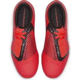 Buty piłkarskie Nike Phantom Venom Academy Fg Jr AO0362 600 czerwone wielokolorowe 2