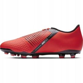 Buty piłkarskie Nike Phantom Venom Academy Fg Jr AO0362 600 czerwone wielokolorowe 1
