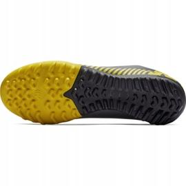 Buty piłkarskie Nike Mercurial Vapor X 12 Academy Tf AH7384 070 szare czarne 3