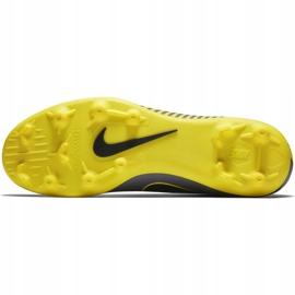 Buty piłkarskie Nike Mercurial Vapor 12 Club Mg AH7378 070 szare szary, żółty 3