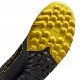 Buty piłkarskie Nike Mercurial Vapor X 12 Academy Tf AH7384 070 szare czarne 4
