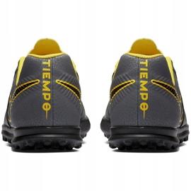 Buty piłkarskie Nike Tiempo Legend 7 Club Tf Jr AH7261 070 szare czarne 5