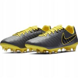 Buty piłkarskie Nike Tiempo Legend 7 Pro Fg AH7241 070 wielokolorowe szare 5