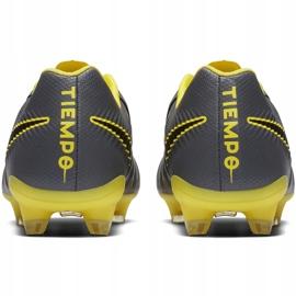 Buty piłkarskie Nike Tiempo Legend 7 Pro Fg AH7241 070 wielokolorowe szare 6