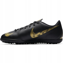 Buty piłkarskie Nike Mercurial Vapor X 12 Club Tf Jr AH7355 077 czarne wielokolorowe 1