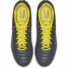 Buty piłkarskie Nike Tiempo Legend 7 Pro Fg AH7241 070 wielokolorowe szare 2