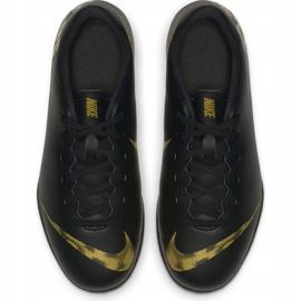 Buty piłkarskie Nike Mercurial Vapor X 12 Club Tf Jr AH7355 077 czarne wielokolorowe 2