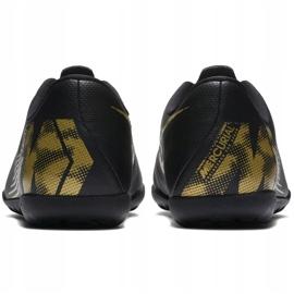 Buty piłkarskie Nike Mercurial Vapor X 12 Club Tf Jr AH7355 077 czarne wielokolorowe 4
