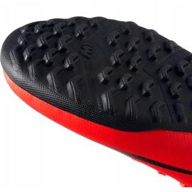 Buty piłkarskie Nike Mercurial Vapor X 12 Club Gs CR7 Tf Jr AJ3106 600 wielokolorowe czerwone 5