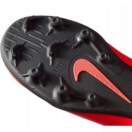 Buty piłkarskie Nike Mercurial Vapor 12 Club Gs CR7 FG/MG Jr AJ3095 600 wielokolorowe czerwone 5