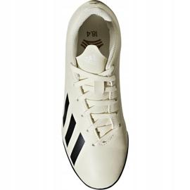 Buty piłkarskie adidas X Tango 18.4 Tf Jr DB2436 beżowy wielokolorowe 1