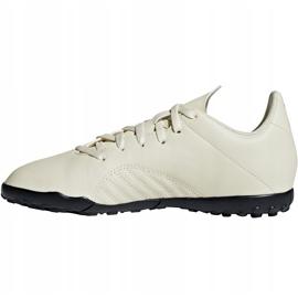 Buty piłkarskie adidas X Tango 18.4 Tf Jr DB2436 beżowy wielokolorowe 2