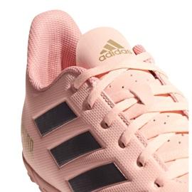 Buty piłkarskie adidas Predator Tango 18.4 Tf DB2142 różowe wielokolorowe 4