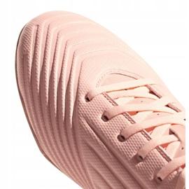 Buty piłkarskie adidas Predator Tango 18.4 Tf DB2142 różowe wielokolorowe 3