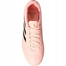 Buty piłkarskie adidas Predator Tango 18.4 Tf DB2142 różowe wielokolorowe 2