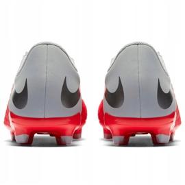 Buty piłkarskie Nike Hypervenom 3 Academy Fg Jr AJ4119 600 czerwone czerwone 4