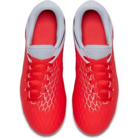 Buty piłkarskie Nike Hypervenom 3 Academy Fg Jr AJ4119 600 czerwone czerwone 1