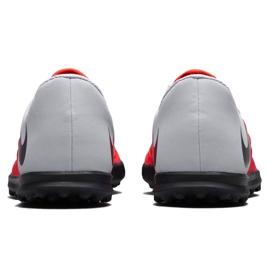 Buty piłkarskie Nike Hypervenom Phantom X 3 Club Tf Jr AJ3790 600 wielokolorowe czerwone 4