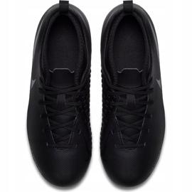 Buty piłkarskie Nike Phantom Vsn Club Df Fg Jr AO3288 001 czarne wielokolorowe 2